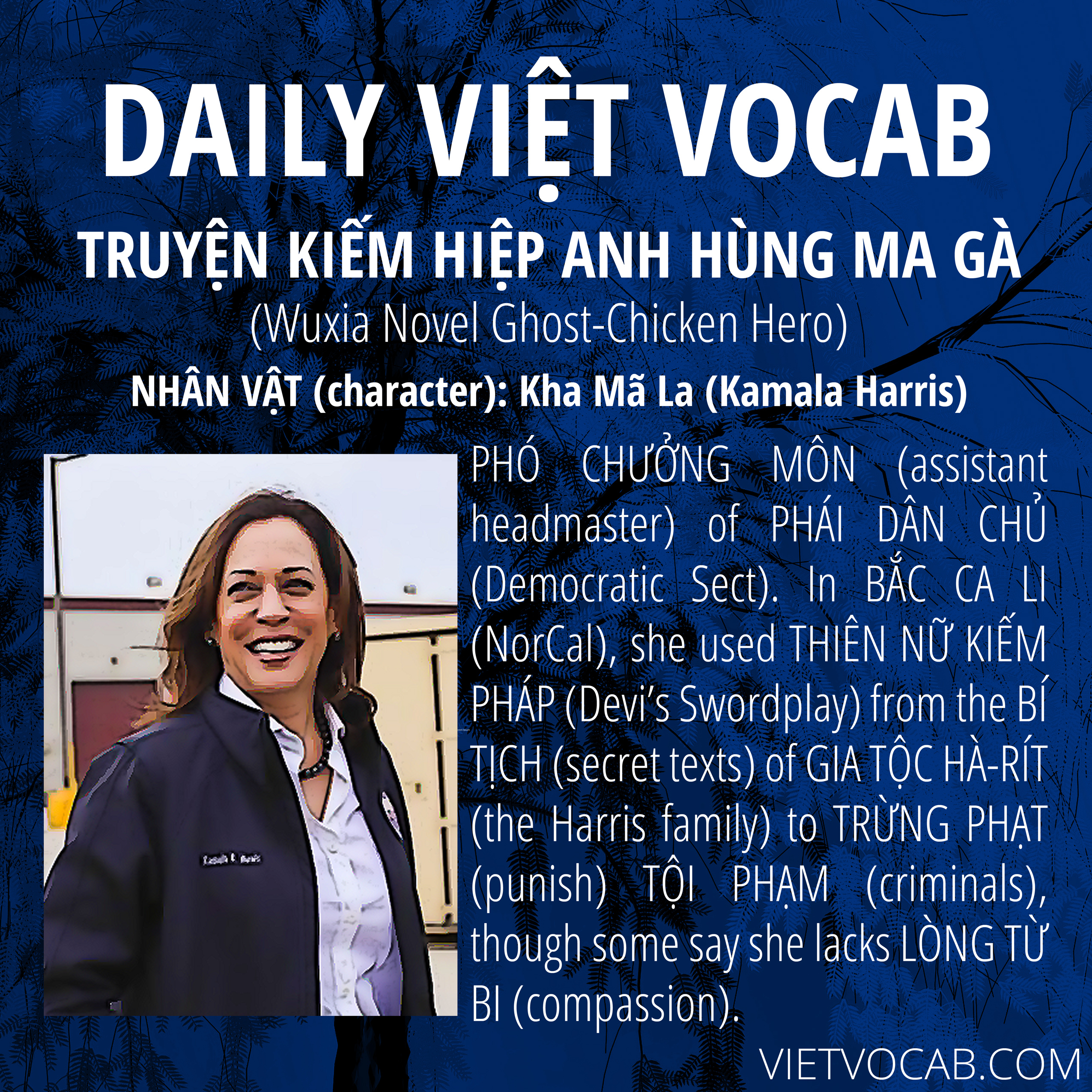 Kha Mã La (2020-08-29) - Daily Việt Vocab